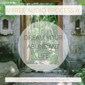 Dream Your Abundant Life