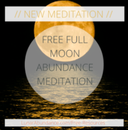 Ezzie Spencer Free Full Moon Abundance Meditation